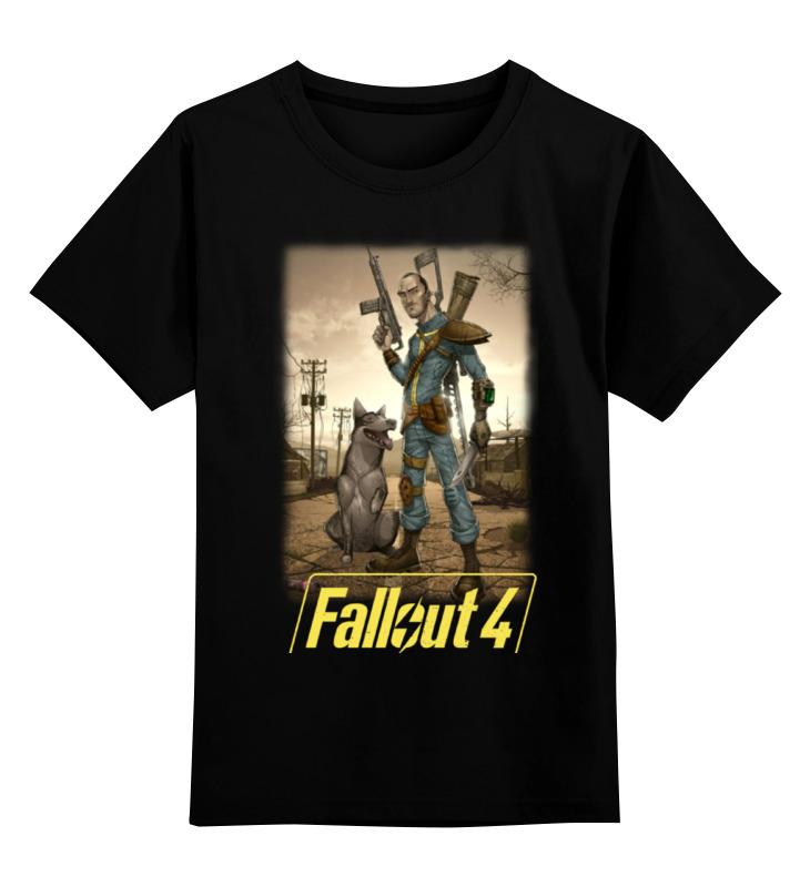 Детская футболка классическая унисекс Printio Fallout 4 футболка классическая printio fallout фэллаут