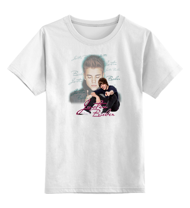 Детская футболка классическая унисекс Printio Джастин бибер майка классическая printio джастин бибер