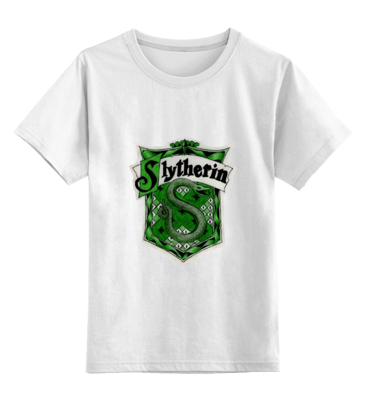 Детская футболка классическая унисекс Printio Slytherin quidditch team футболка wearcraft premium printio рыжий котик don t panic be cool it s idea shop