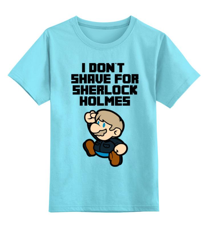 Детская футболка классическая унисекс Printio Mario x sherlock holmes dayle a c the adventures of sherlock holmes рассказы на английском языке