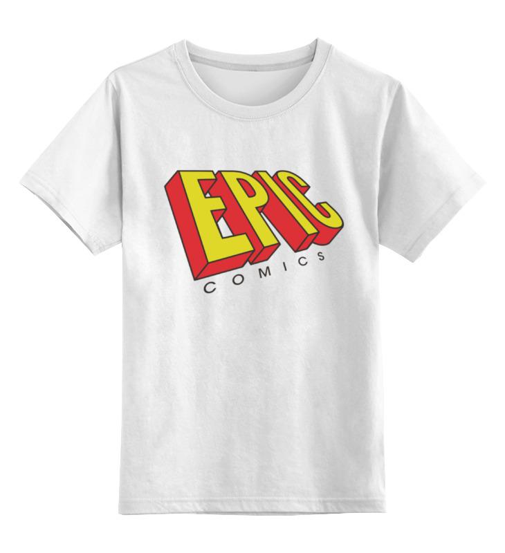 Детская футболка классическая унисекс Printio Эпичные комиксы детская футболка классическая унисекс printio мотоцикл