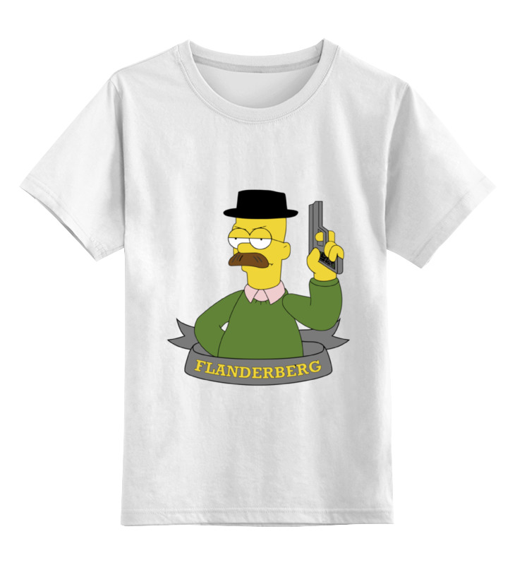 Детская футболка классическая унисекс Printio Симпоны ( the simpsons ) майка классическая printio симпоны the simpsons