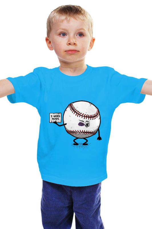 Детская футболка классическая унисекс Printio help me