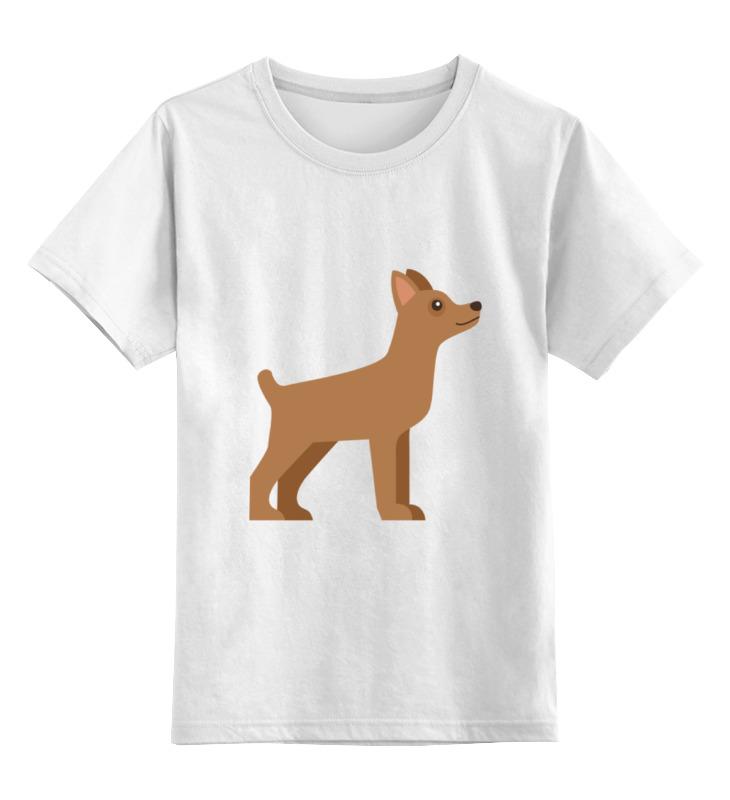 Детская футболка классическая унисекс Printio Милый щенок цена и фото