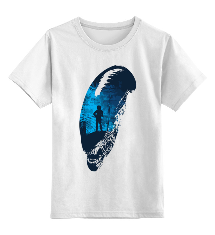 Детская футболка классическая унисекс Printio Чужой (alien) футболка чужой