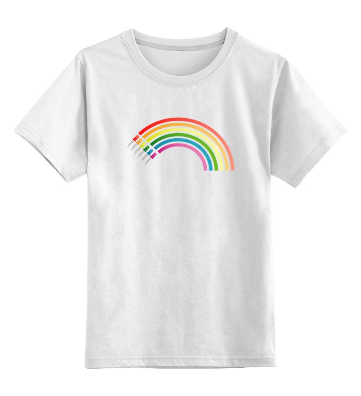 Детская футболка классическая унисекс Printio Радуга кружка радуга 305мл фарфор