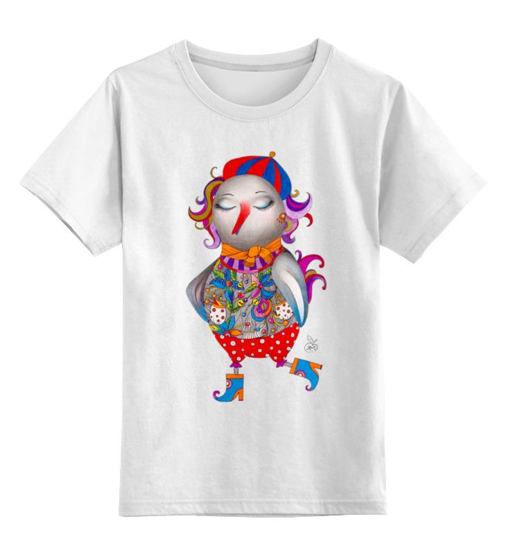Детская футболка классическая унисекс Printio Весенняя птица детская футболка классическая унисекс printio космическая птица