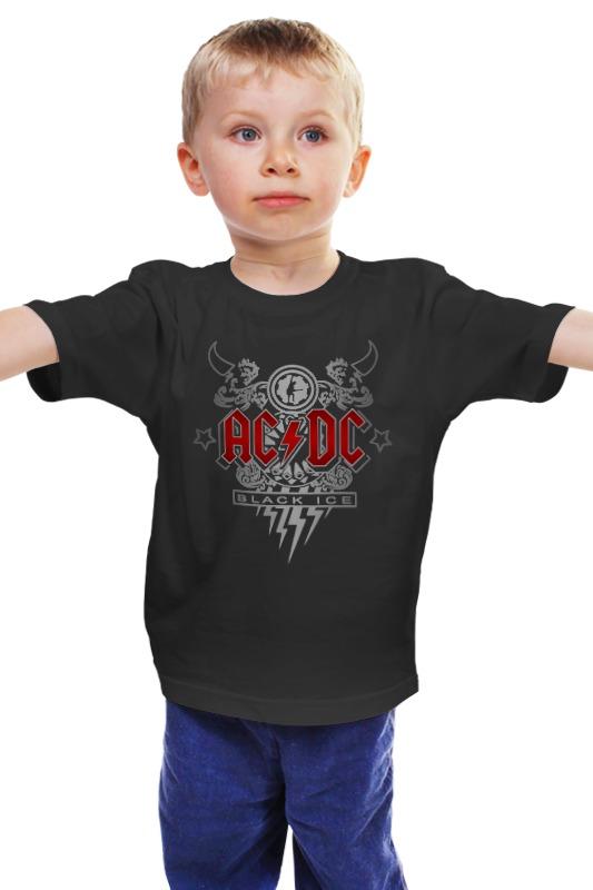Детская футболка классическая унисекс Printio Ac/dc. black ice ac dc ac dc black ice 2 lp
