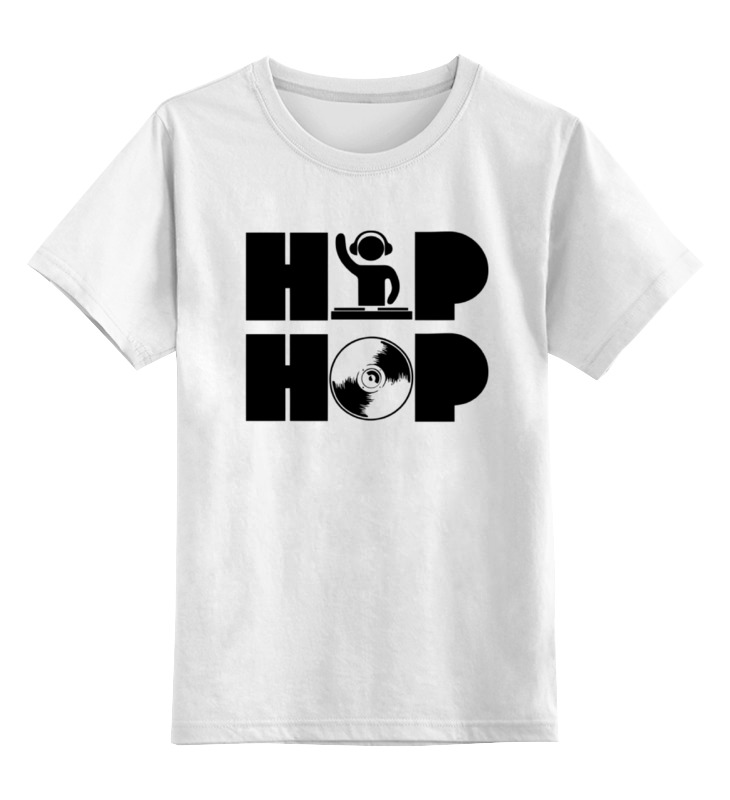 Детская футболка классическая унисекс Printio Хип хоп
