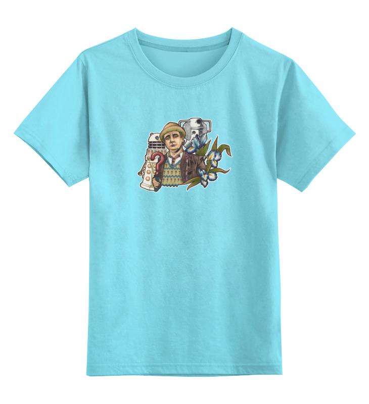 Детская футболка классическая унисекс Printio 7-ой доктор кто чехол для iphone 7 глянцевый printio доктор кто
