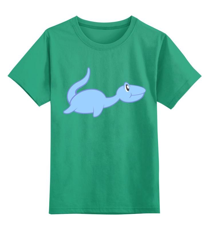 Детская футболка классическая унисекс Printio Динозаврик цена и фото