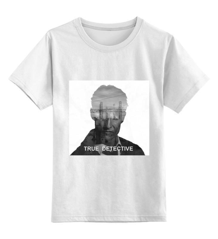 Детская футболка классическая унисекс Printio Настоящий детектив недорго, оригинальная цена