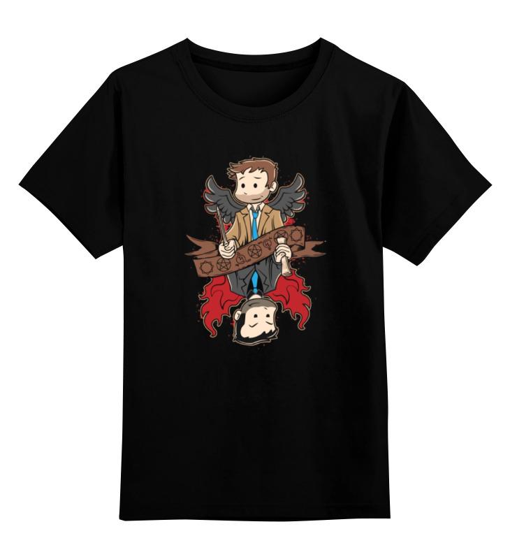 Детская футболка классическая унисекс Printio Братья винчестер (supernatural) футболка wearcraft premium slim fit printio винчестер supernatural