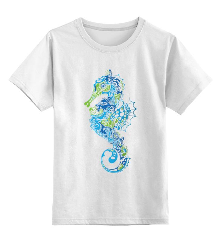 Детская футболка классическая унисекс Printio Морской конек ночник проектор 31 век морской конек