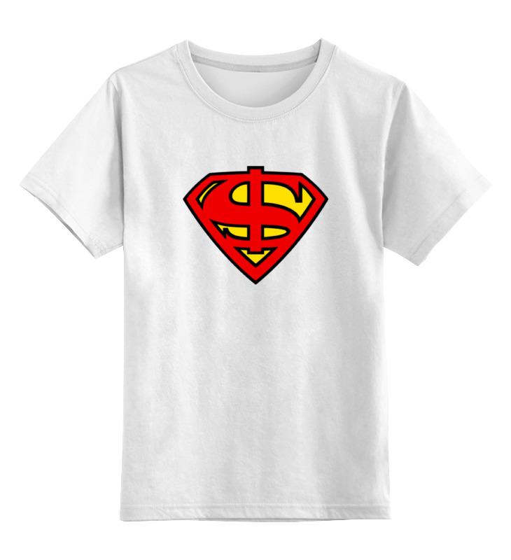 Детская футболка классическая унисекс Printio Супер доллар детская футболка классическая унисекс printio мотобайк