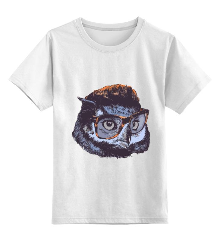 Printio Owl in glasses цена и фото