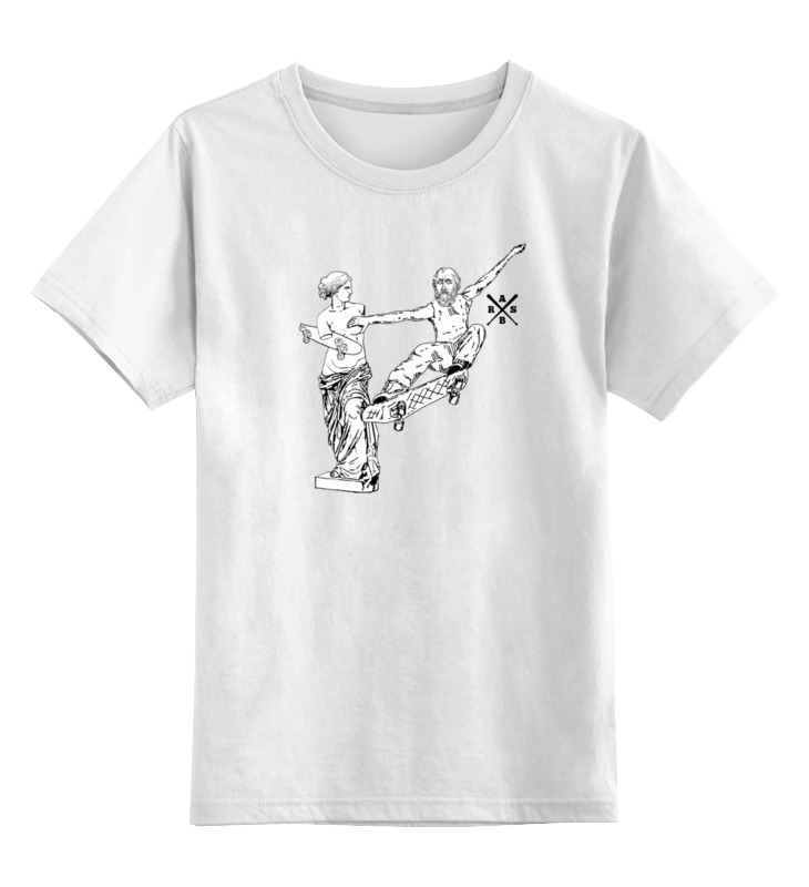 Детская футболка классическая унисекс Printio Urban environment - arsb футболка для беременных printio arsb skate