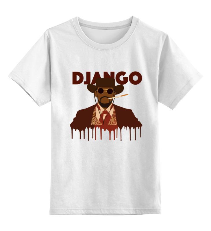 Детская футболка классическая унисекс Printio Джанго детская футболка классическая унисекс printio django unchained jame foxx