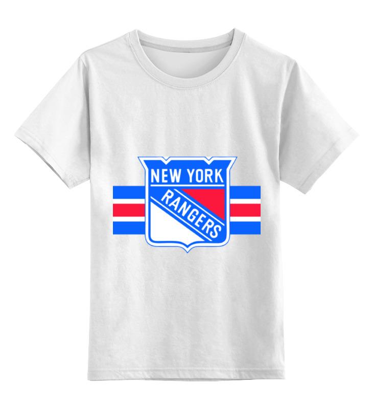 Детская футболка классическая унисекс Printio Нью-йорк рейнджерс нью йорк