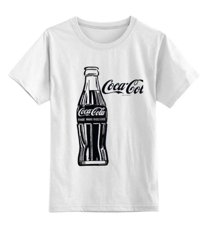 Детская футболка классическая унисекс Printio Кока-кола (coca-cola) colibri стол coca cola