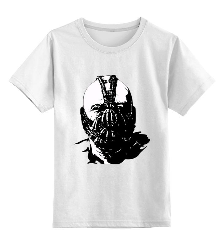 Детская футболка классическая унисекс Printio Суперзлодей комиксов - бэйн робин dc comics из серии возращение тёмного рыцаря
