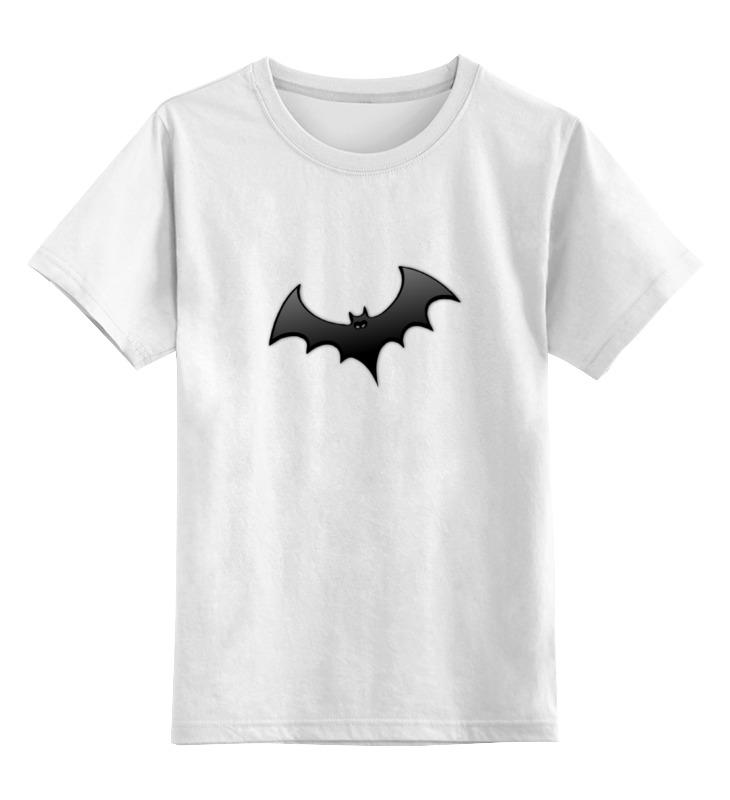 Детская футболка классическая унисекс Printio Летучая мышь летучая мышь о