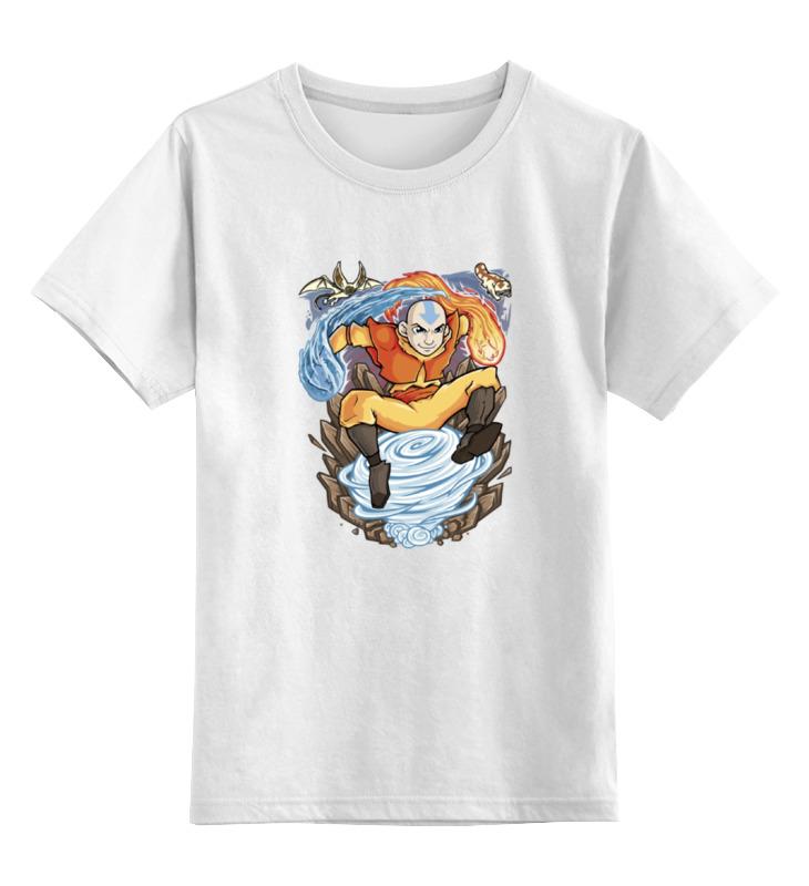 Детская футболка классическая унисекс Printio Аватар (легенда о корре) футболка с полной запечаткой мужская printio аватар легенда об аанге