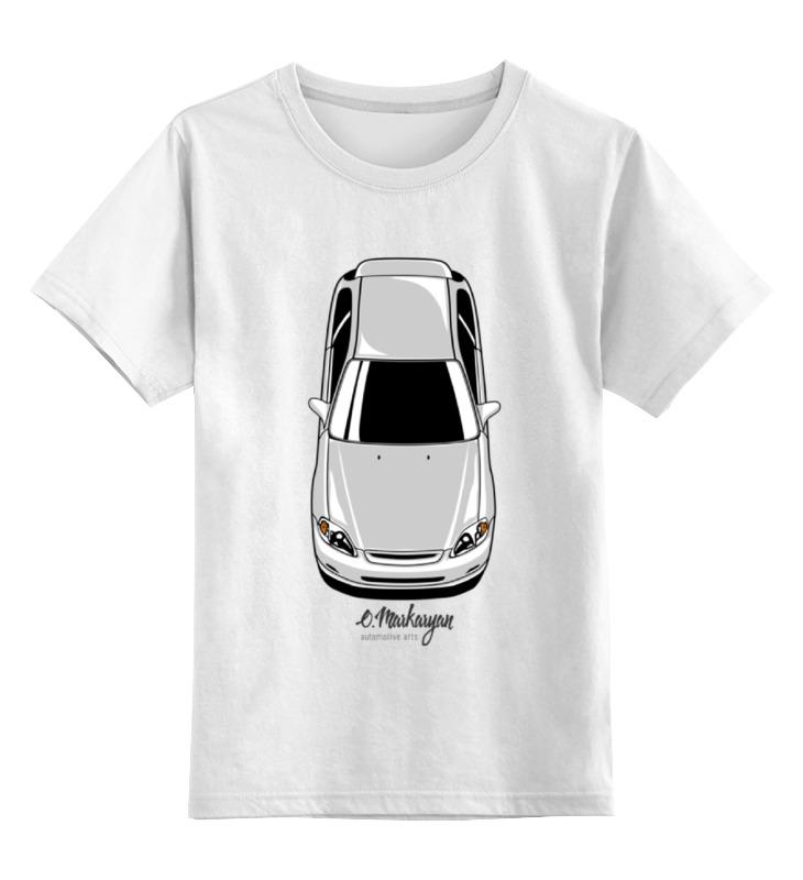Детская футболка классическая унисекс Printio Honda civic ek
