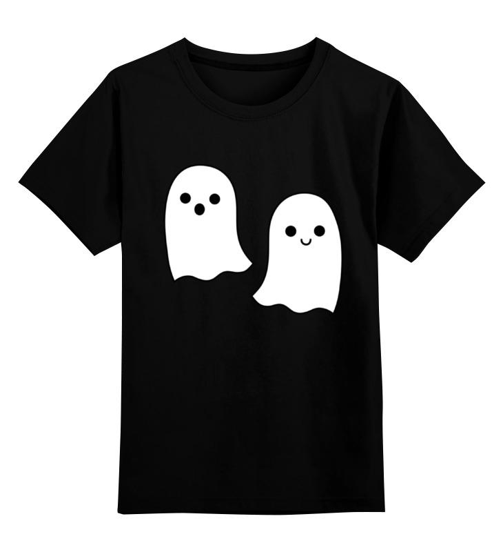 Детская футболка классическая унисекс Printio Ghost happy halloween soft pumpkins ghost printed pillow case