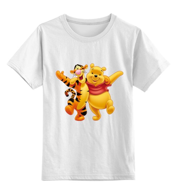 Детская футболка классическая унисекс Printio Винни пух и тигра детская футболка классическая унисекс printio винни пух