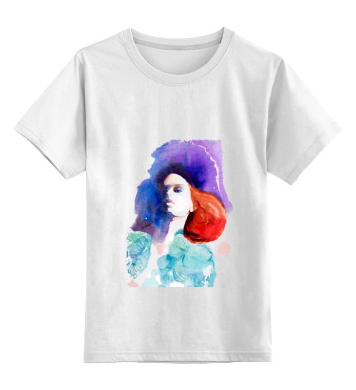 Детская футболка классическая унисекс Printio Girl in colors лонгслив printio girl in colors