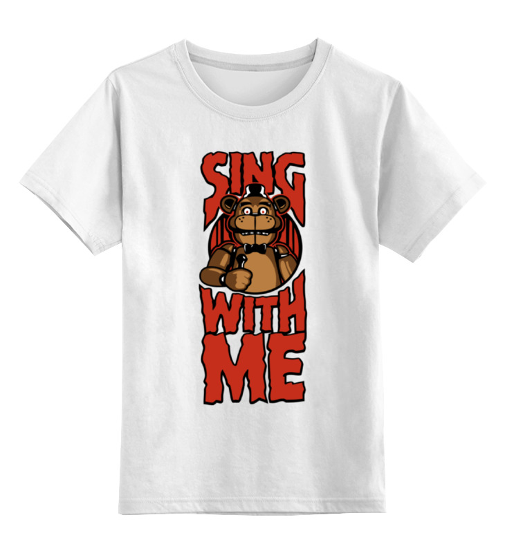 Printio Спой со мной (пять ночей у фредди) футболка классическая printio спой со мной пять ночей у фредди