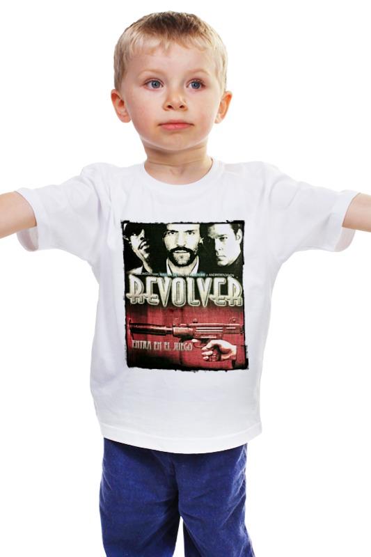 Детская футболка классическая унисекс Printio Револьвер в москве травматический револьвер таурус
