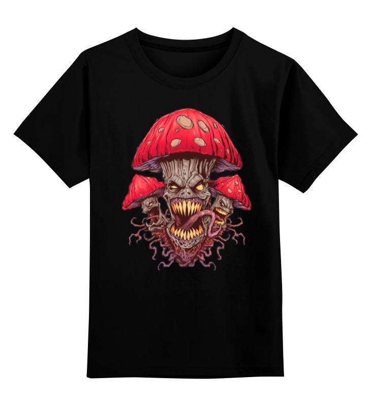Детская футболка классическая унисекс Printio Зловещие мухоморы серьги anna slavutina мухоморы