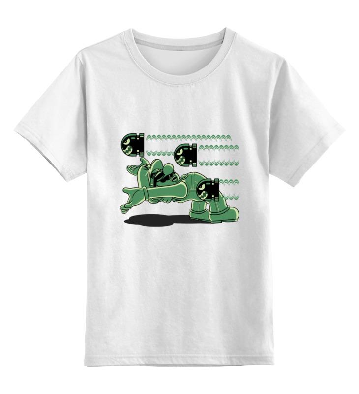 Детская футболка классическая унисекс Printio Марио (матрица) детская футболка классическая унисекс printio марио