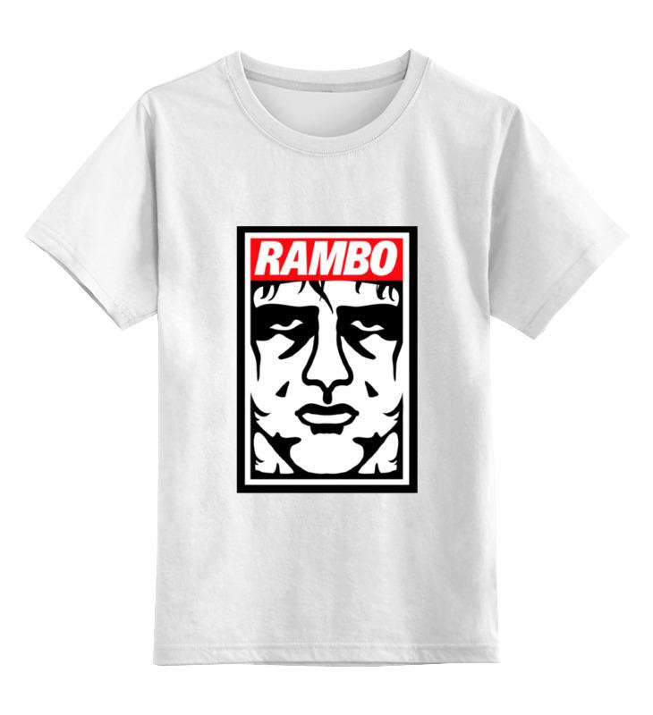 Детская футболка классическая унисекс Printio Рэмбо (rambo)