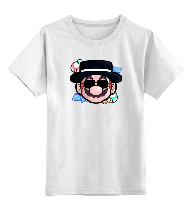 Printio Марио (хайзенберг) детская футболка классическая унисекс printio череп марио