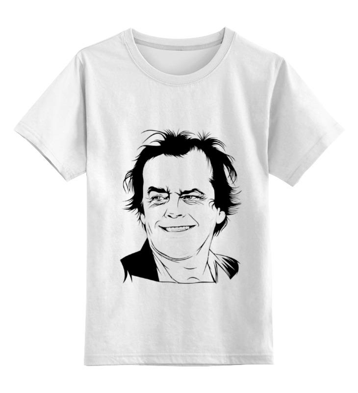Детская футболка классическая унисекс Printio Jack nicholson напильник united states nicholson nicholson 10 06034