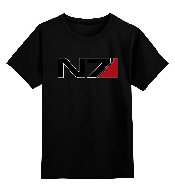 Детская футболка классическая унисекс Printio N7 - mass effect футболка классическая printio n7 mass effect