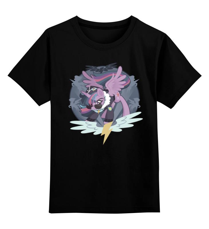 Детская футболка классическая унисекс Printio Twilight sparkle wonderbolt цена