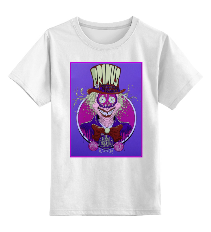 Детская футболка классическая унисекс Printio Primus band