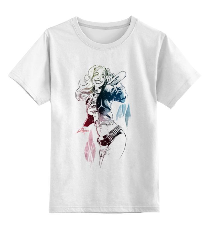 Детская футболка классическая унисекс Printio Harley quinn футболка детская bodo цвет белый 4 86u размер 86 92