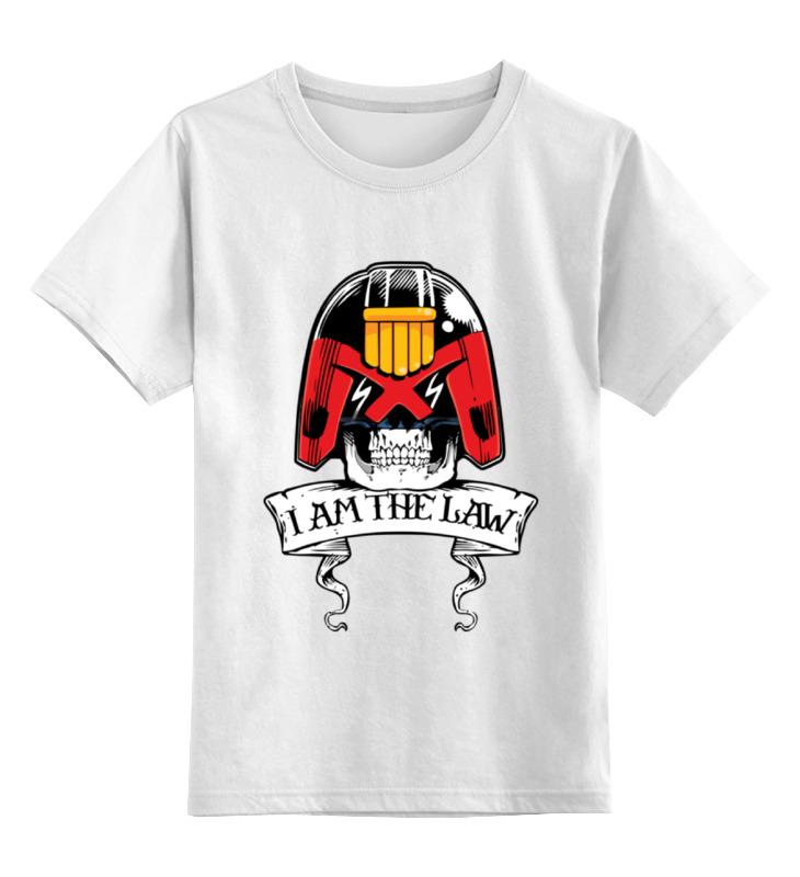 Детская футболка классическая унисекс Printio Судья дредд детская футболка классическая унисекс printio девушка фредди крюгер