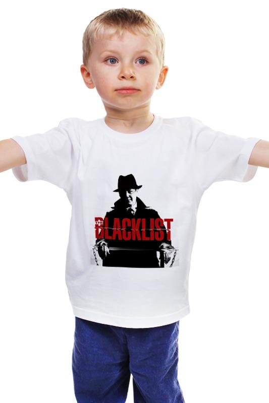 Детская футболка классическая унисекс Printio Черный список