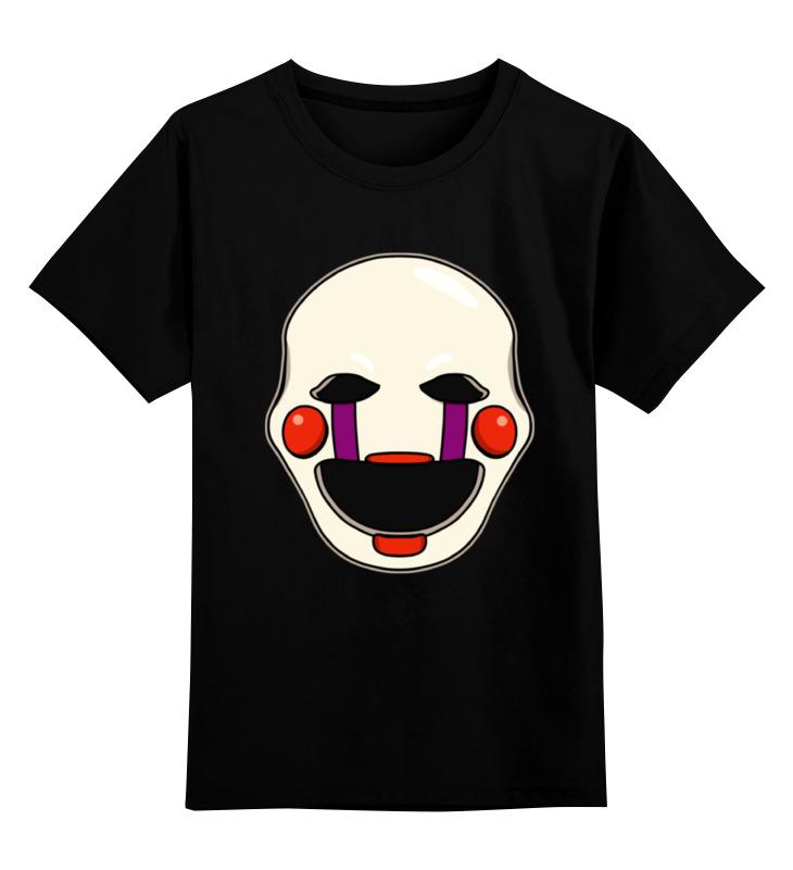 Детская футболка классическая унисекс Printio Puppet (пять ночей у фредди)