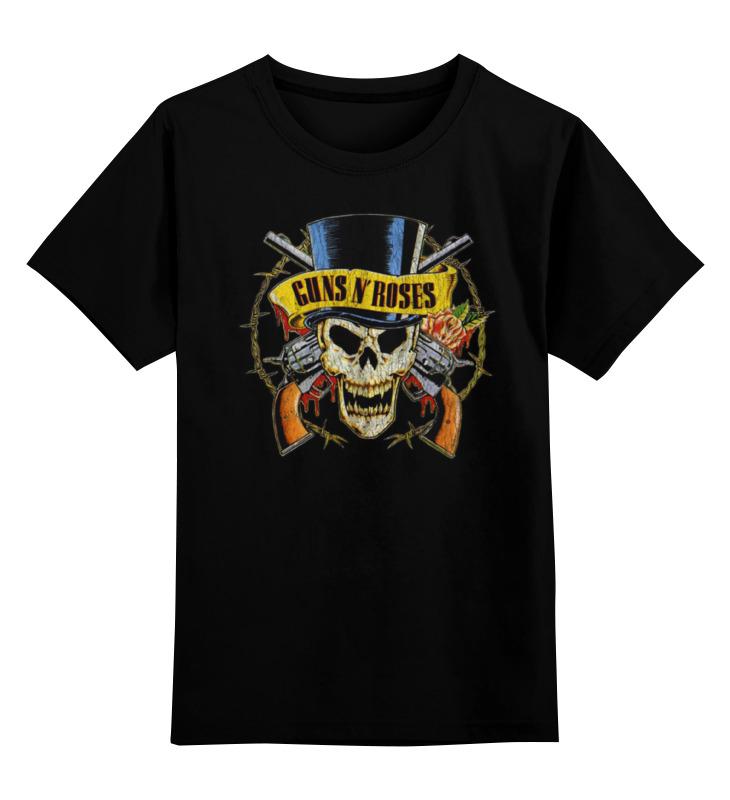 Детская футболка классическая унисекс Printio Guns n' roses майка борцовка print bar guns n roses