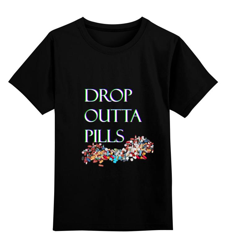 Детская футболка классическая унисекс Printio Dropouttapills футболка adidas