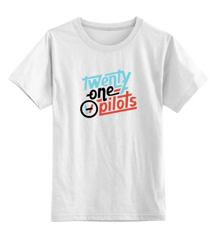 Детская футболка классическая унисекс Printio twenty one pilots тетрадь на скрепке printio тетрадь twenty one pilots