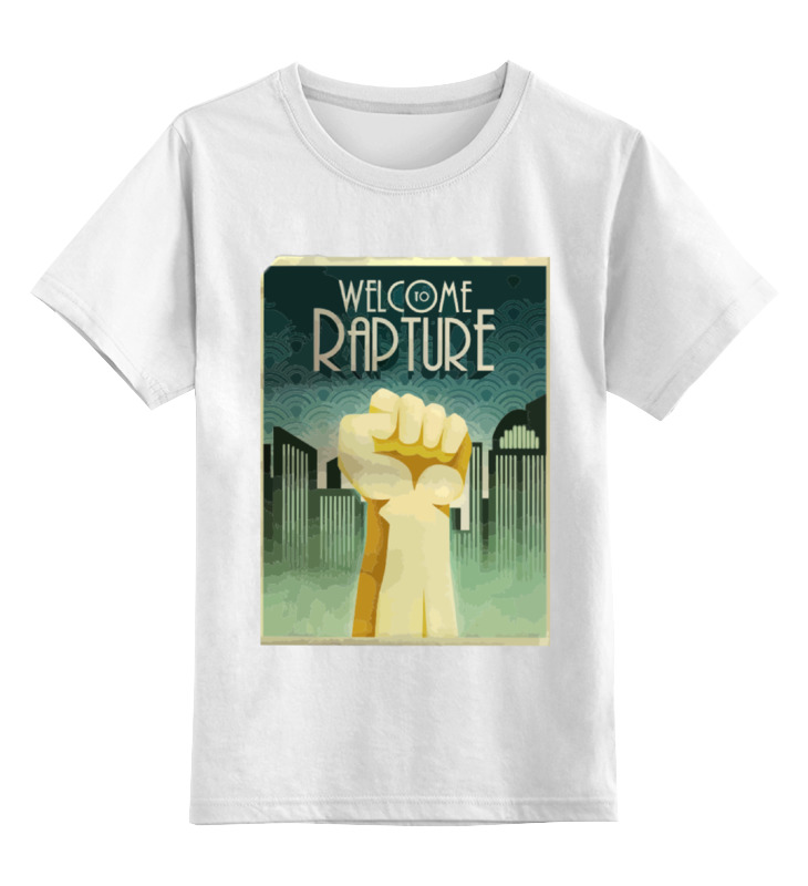 Printio Welcome to rapture футболка wearcraft premium slim fit printio welcome to rapture