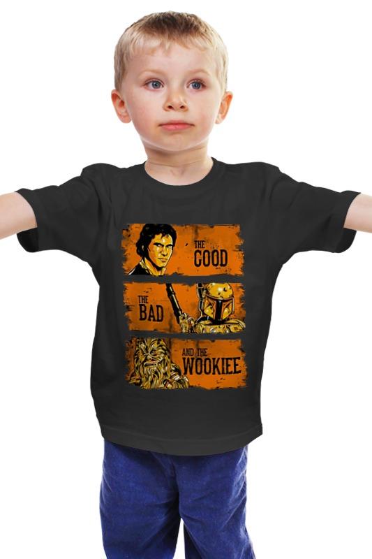 Детская футболка классическая унисекс Printio The good, the bad and the wookie футболка классическая printio the good the bad and the wookie